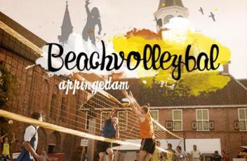 Beachvolleybal Appingedam